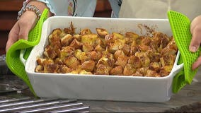 Egg Nog French Toast Casserole: Put a holiday twist on a classic breakfast dish