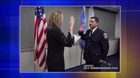 MPD changeover: Interim Chief Alfonso Morales sworn in as Flynn retires