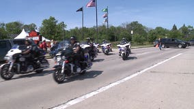 'We're going to help:' Motorcyclists ride together to support the Milwaukee Junior Fire Institute