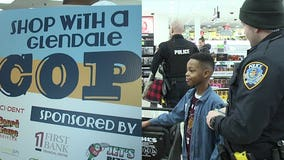 'An event like this builds relationships:' Glendale police take kids to Kohl's for 'Shop with a Cop'