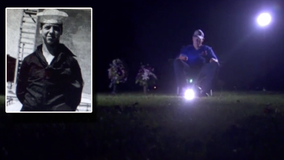 Man fulfills promise, drives 650 miles to listen to Cubs game at father's gravesite