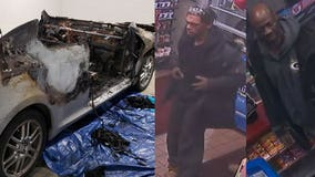 Brown Deer police ask for help to ID suspects in connection with arson of car
