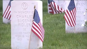 Wood National Cemetery halts public ceremony, remains open for people to privately pay respects