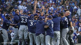 Central Division Champs! Brewers beat Cubs 3-1 at Wrigley Field