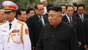North Korea's Kim Jong Un appears in public amid health rumors