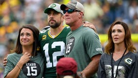 Brett Favre says Aaron Rodgers will finish his NFL career somewhere other than Green Bay