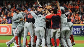 Nats beat Astros 6-2 to win 1st World Series