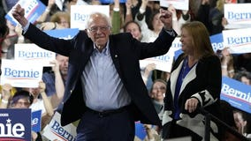 Bernie Sanders wins Democratic presidential primary in California; Pres. Trump wins GOP primary
