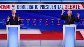 'Bigger than any 1 of us:' Joe Biden, Bernie Sanders take on pandemic in debate