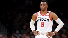 Houston Rockets' Russell Westbrook says he tested positive for coronavirus