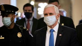 VP Mike Pence visits tourism-reliant Florida as Disney shops reopen