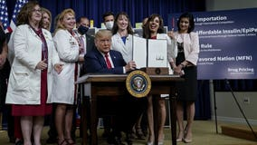 'Massive reductions:' President Trump signs executive orders to lower prescription drug costs