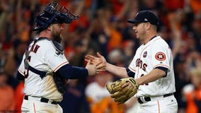 Astros get first ever Series victory at home