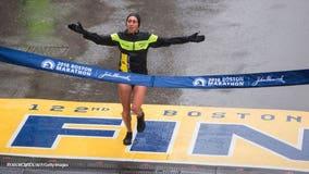 Desi Linden wins Boston Marathon, 1st US woman since 1985