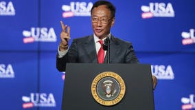 Foxconn Technology Group CEO Terry Gou heads to White House for meeting; unclear why