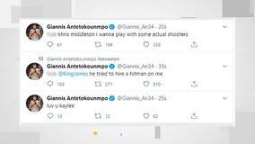 '(Expletive) Khris Middleton:' Giannis Antetokounmpo's Twitter account hacked