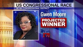 Democratic Congresswoman Gwen Moore re-elected in race for 4th Congressional District
