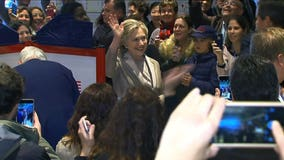 Hillary Clinton casts her ballot: 'It is the most humbling feeling'