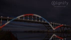 West side of Milwaukee's Hoan Bridge to be lit before the end of summer