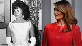 Pres. Trump compares first lady 'Melania T' to 'Jackie O'