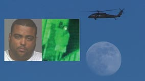 Man faces federal charge, accused of pointing laser at FBI, National Guard choppers during protests