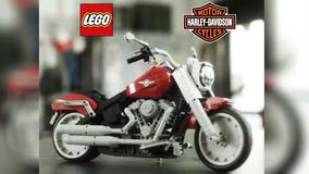 LEGO teams up with Harley-Davidson to create Fat Boy bike set