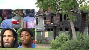 4 sought in arson, shots fired near 40th and Lloyd; police say no evidence to suggest missing girls were there