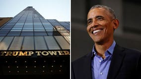 More than 91,000 sign petition to rename street with Trump Tower after Obama