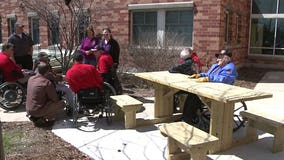 """Haven't seen anything like it:"" Union Grove students build wheelchair-accessible table for vets"