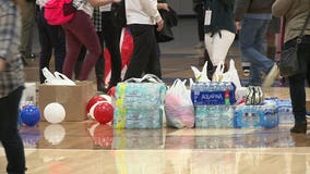Students at Pius High School collect money, items for hurricane victims in Puerto Rico