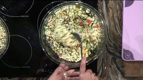 Cauliflower Rice Tabbouleh: A simple recipe that's perfect for summer cookouts
