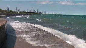 Man dies trying to save girl swept into Lake Michigan, police say
