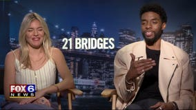 Gino talks with the stars of '21 Bridges' about golden era of cinema