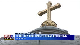 Archdiocese of Milwaukee delays reopening of 16 parishes due to coronavirus concerns