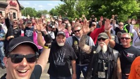 'Thank you, Governor Scott Walker' motorcycle ride raises $8,000 for Fisher House