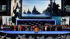 Russian ships displayed during DNC tribute to vets -- but it happened in 2012