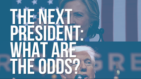 What are the odds of Trump, Clinton winning the 2016 presidential election?