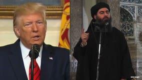 President Trump says IS leader Abu Bakr al-Baghdadi died 'a coward' in raid