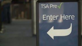 TSA PreCheck application pop-up at Milwaukee airport