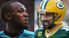 TMZ Sports: Usain Bolt says he'd be up for an NFL career 'if Aaron Rodgers called'