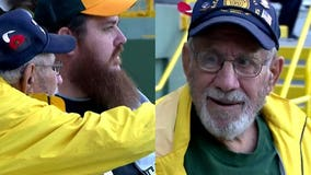 Grandson helps 95-year-old experience Lambeau for 1st time: 'Brought me down for my birthday'