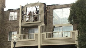 Up to 20 rescued from balconies when massive fire tore through Bayside apartment complex