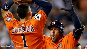 Houston Astros win 1st World Series championship; defeat Dodgers 5-1 in Game 7