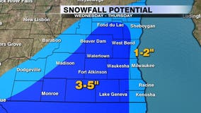 Another round of snow expected on Halloween, measurable amounts possible