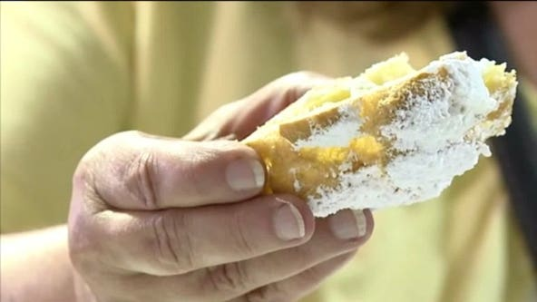 Free cream puffs for vaccinations at Wisconsin State Fair clinic