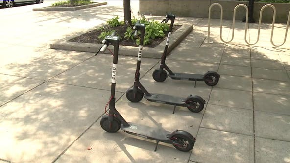 Scooter riding on sidewalks: Milwaukee prohibits new trips downtown
