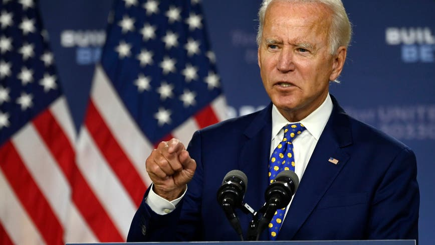 AP source: Biden will not travel to Milwaukee to accept Democratic presidential nomination