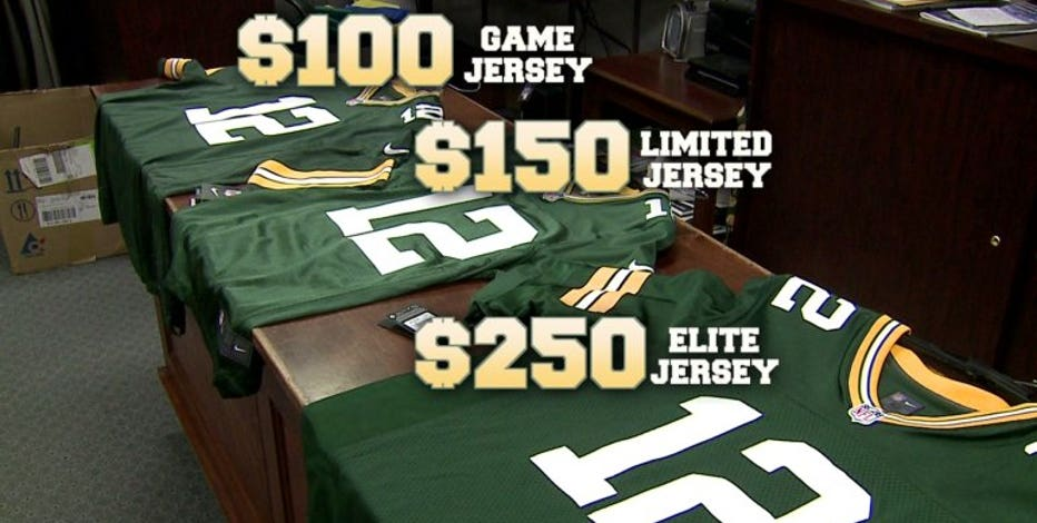 Real or fake? Tell-tale signs of a knock-off NFL jersey