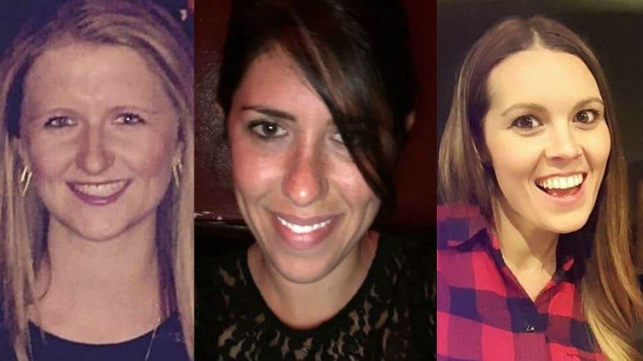 Ashley Sawatzke, Amy Taylor, Lindsey Cohen