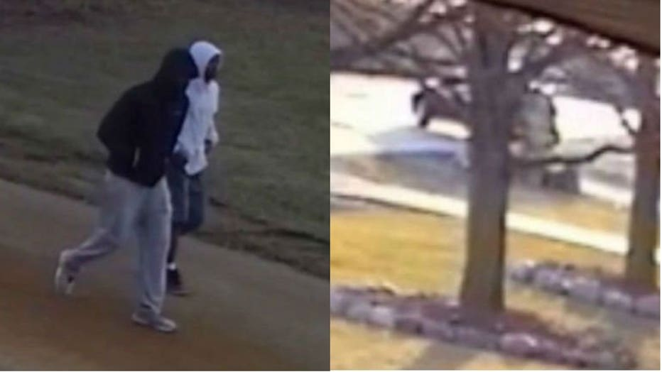 Suspects near Theresa Kallies' home